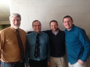 Kevin Heiser, Dave Hohulin, Dave Parker, Tim Roth